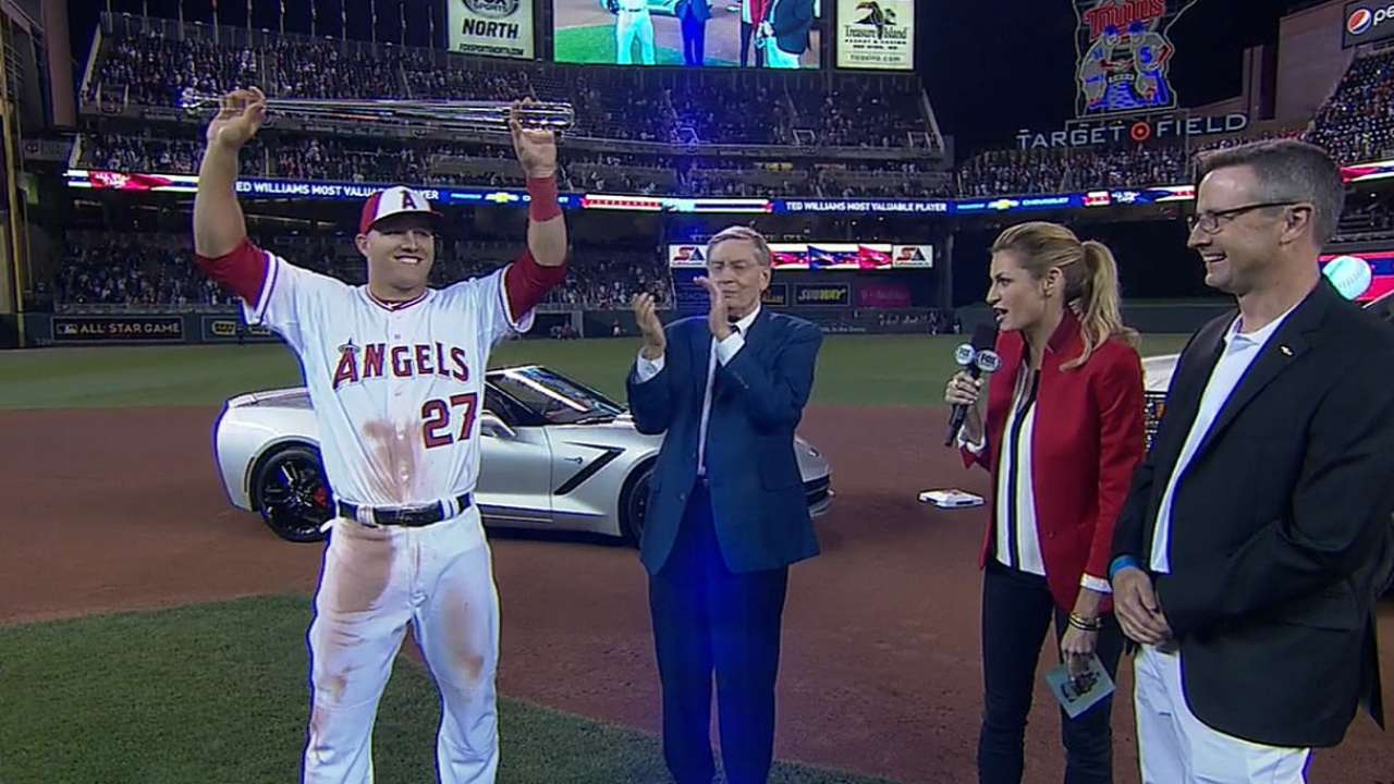 Be like Mike: MVP cements Trout's status among elite