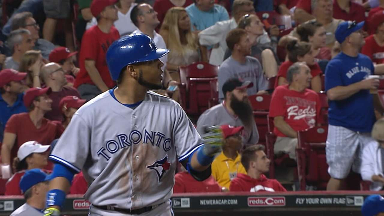 Encarnacion activated from DL; Gose goes down