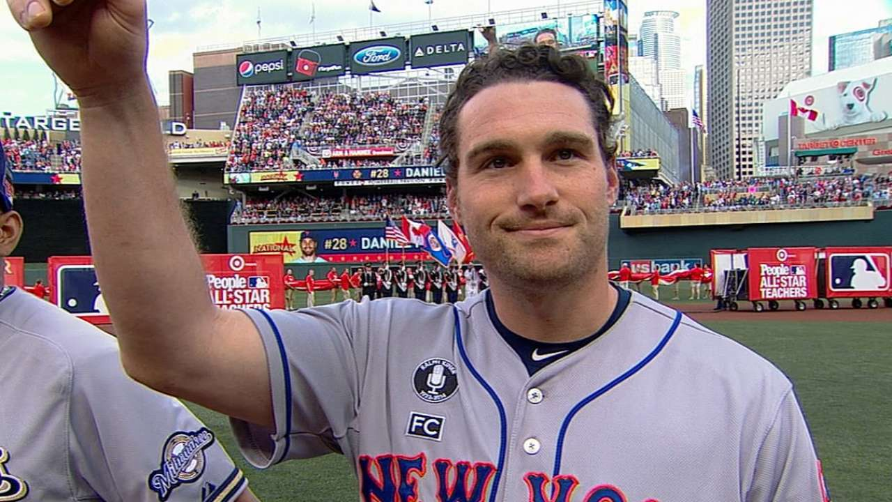 Murphy has 'blast' at ASG, now focused on Mets