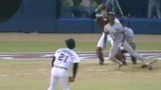 1985 ASG: McGee hits two-run, ground-rule double