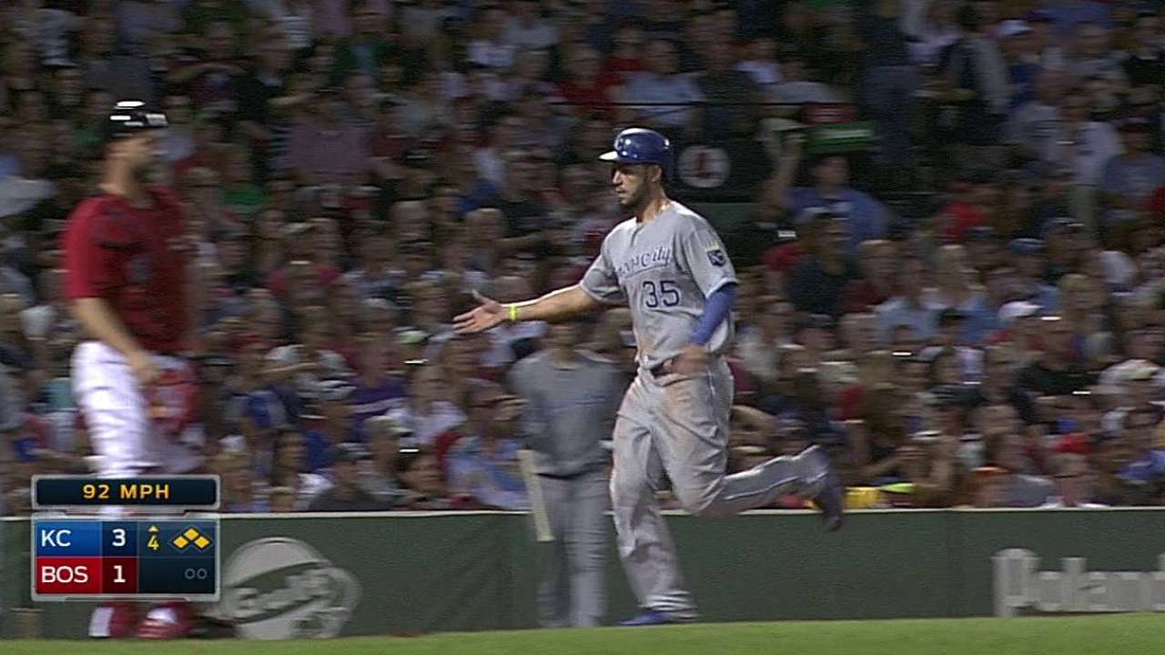 Gordon earns Royals' Heart and Hustle Award