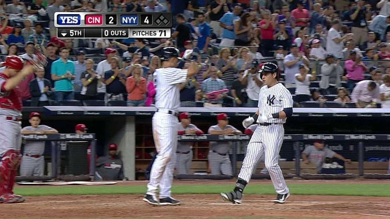Ellsbury y Phelps encabezan triunfo de Yankees