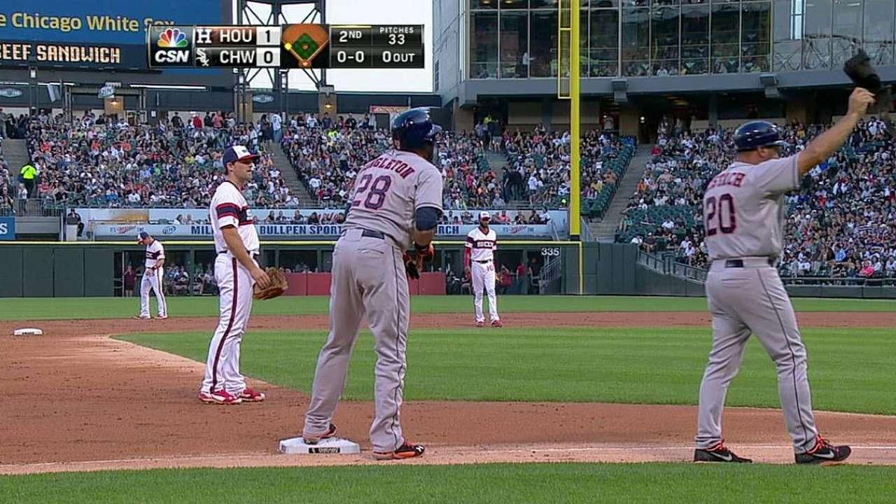 Feldman, Astros fueron dominados por White Sox
