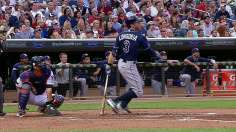 Longo's big double helps Rays down Twins