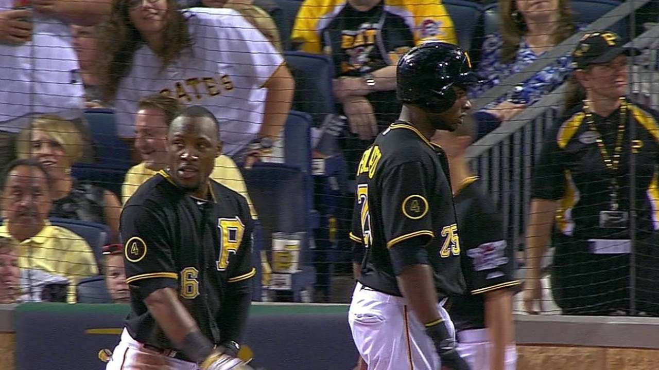 Late rally boosts Pirates to open second half