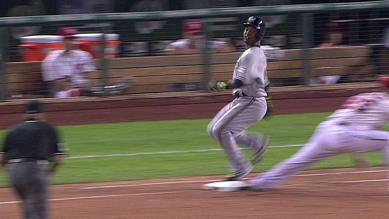 Roenicke gets call at first overturned on challenge