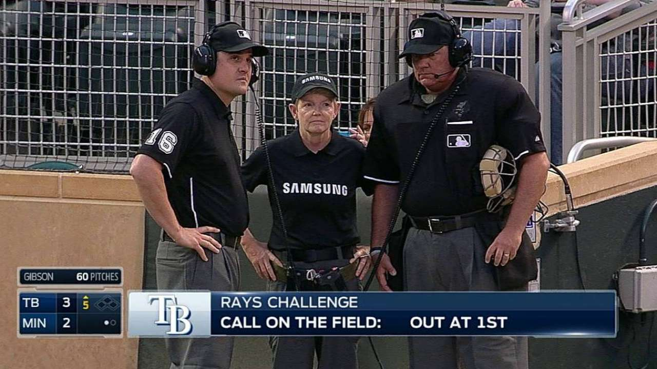 Rays win one challenge, lose another in fifth
