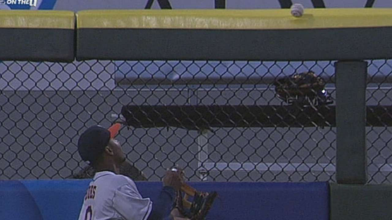 Dunn's bouncing ball falls on wrong side of fence