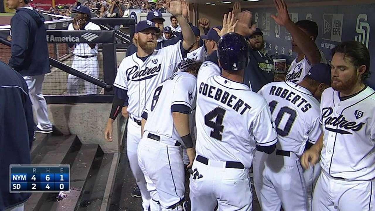 Amarista remolca pero Padres son superados por Mets
