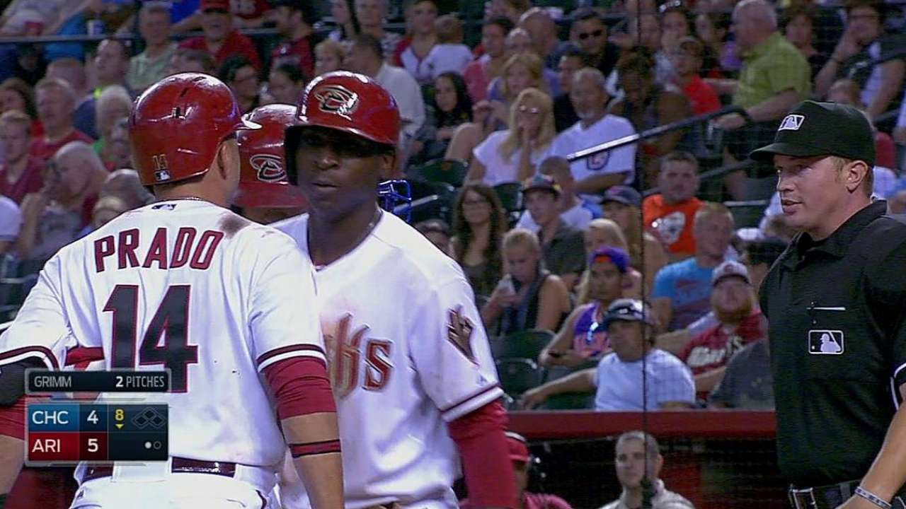 Prado earns first career ejection; Gibson tossed too