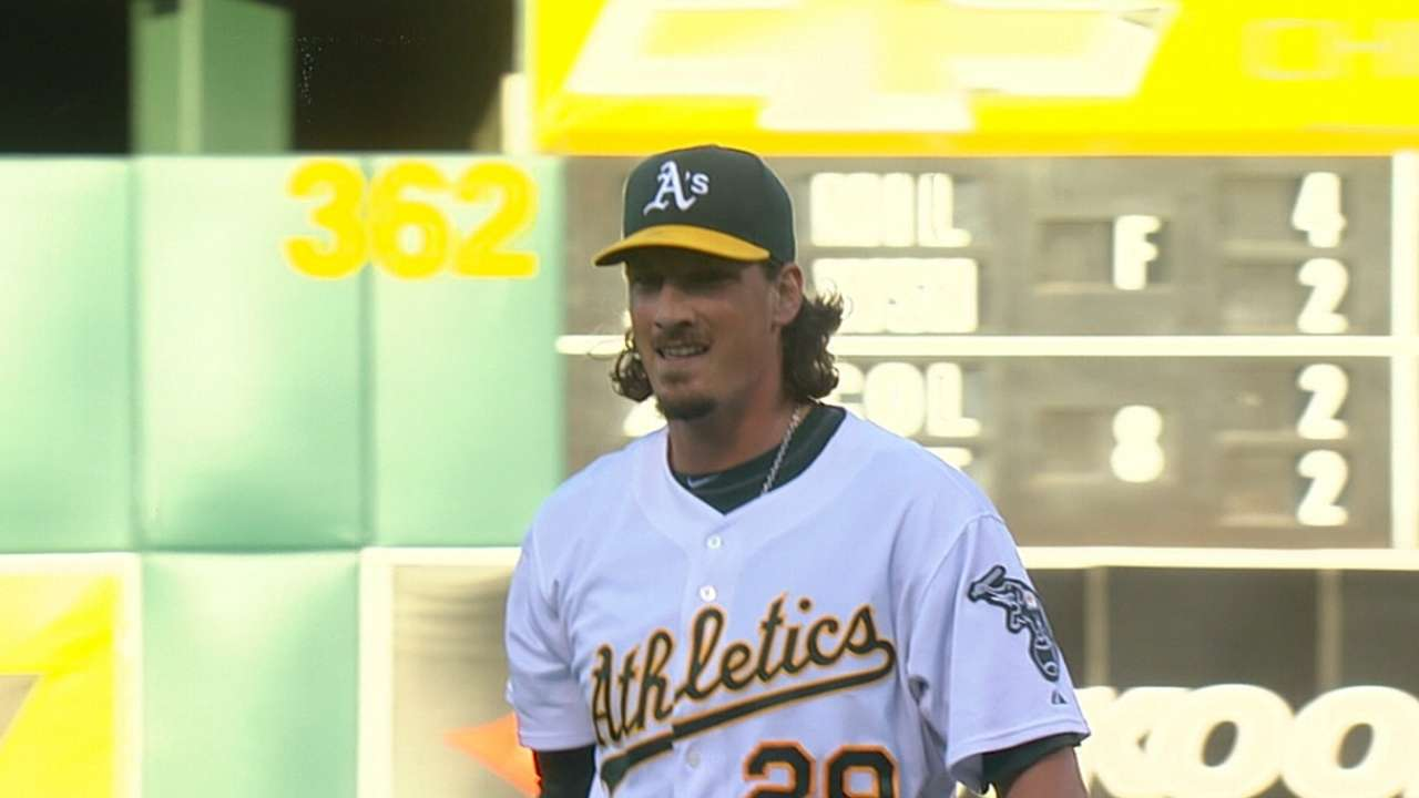 Samardzija reinvents himself to become elite pitcher