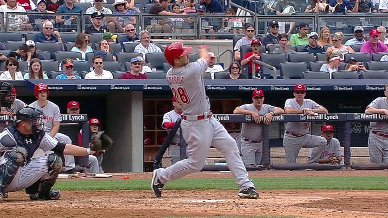 Reds fall to Yanks, off to slow start in second half
