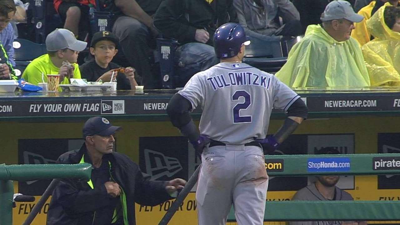 All-Star Tulowitzki leaves game with left leg cramp