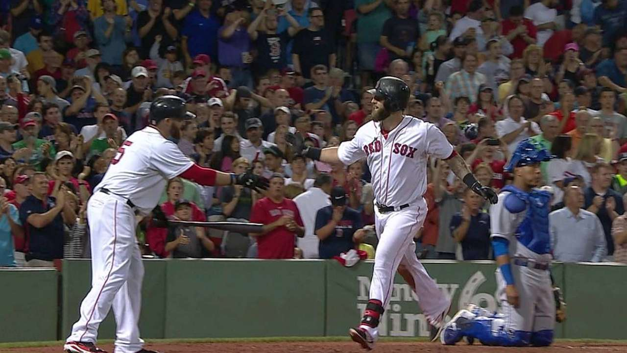 Napoli's Monster jack powers Sox past Royals