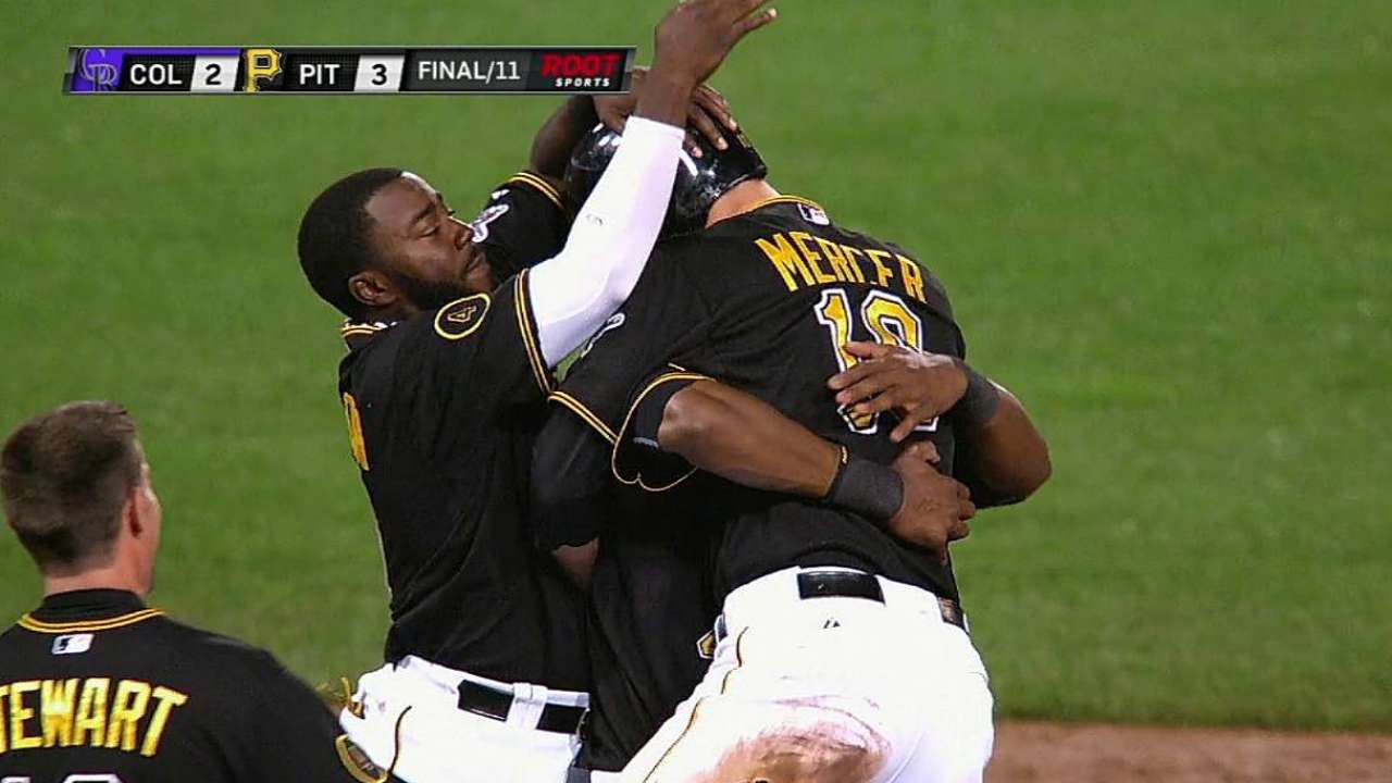 Team play, not homers, key to Pirates' offense