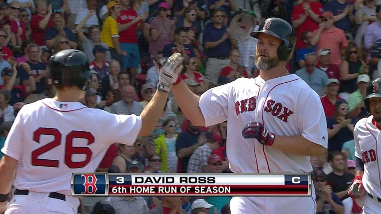 Ross' two-run shot
