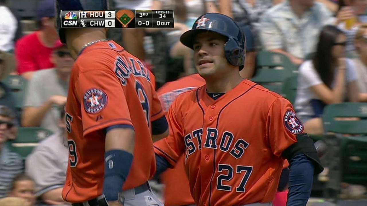 Altuve tabbed for Heart and Hustle Award