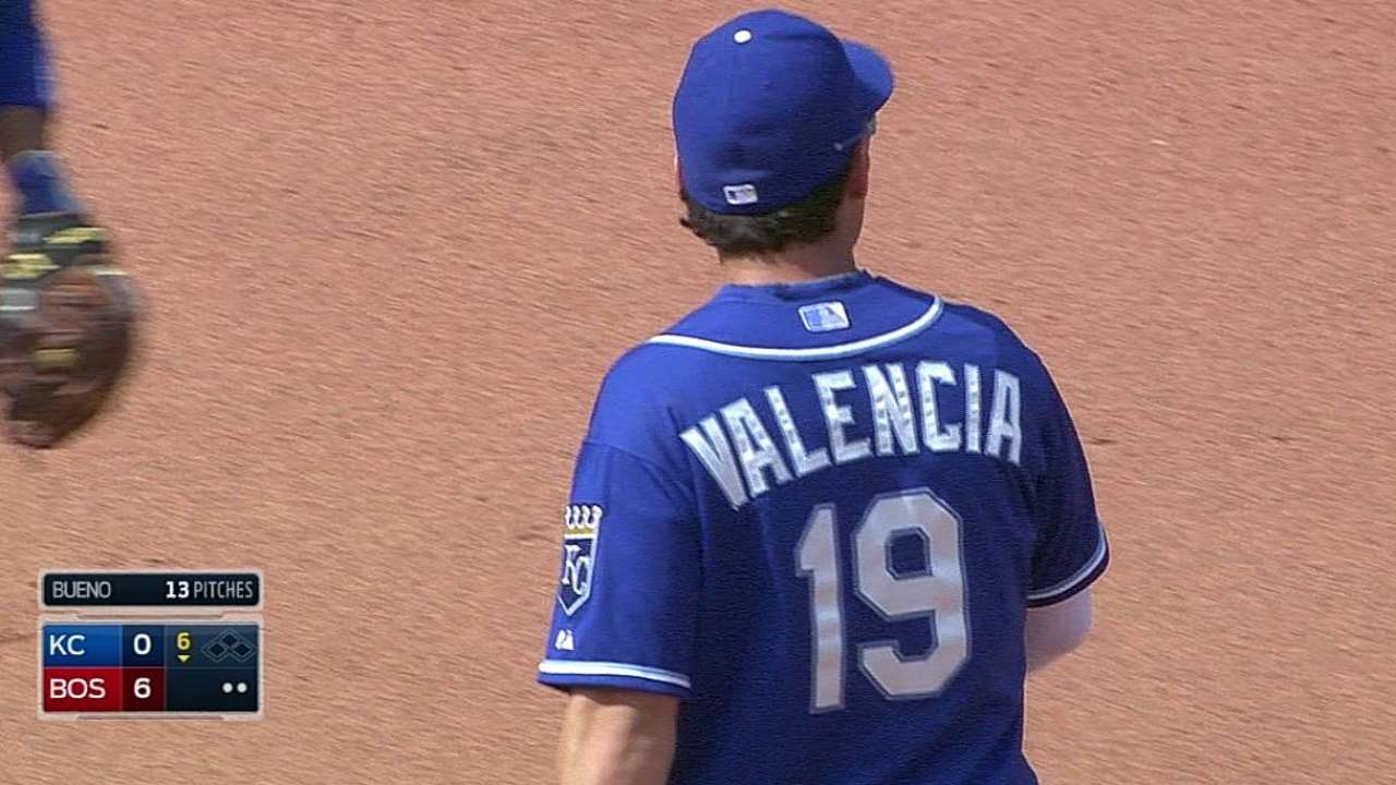 Blue Jays shore up infield depth, acquire Valencia