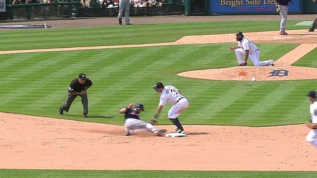 Tito loses challenge on Kipnis' attempted steal