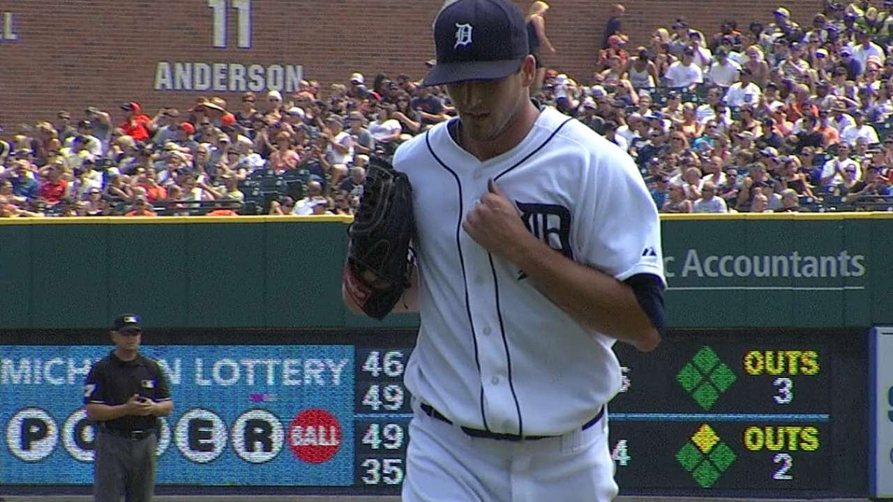 Smyly quiets Indians to help Tigers end slide