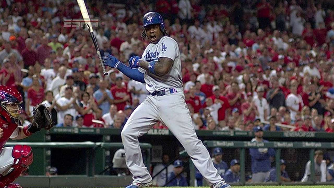 Follow-up X-rays on Hanley, Puig negative