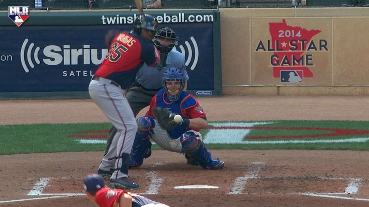 Prospect Vargas could provide power to Twins' lineup