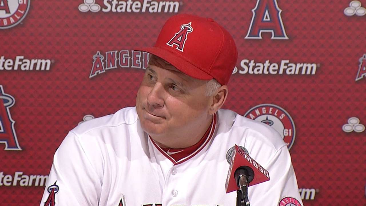 Scioscia still big believer in divisional play