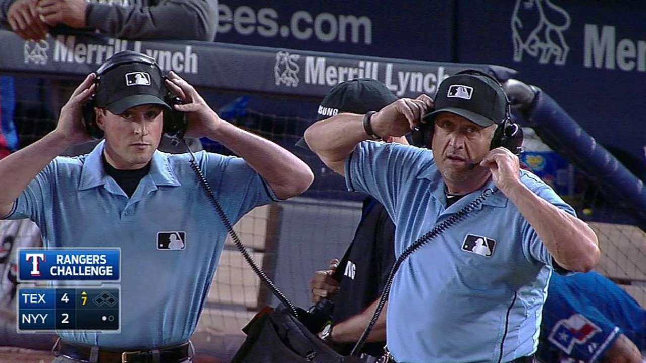 Call at first overturned after Wash's challenge