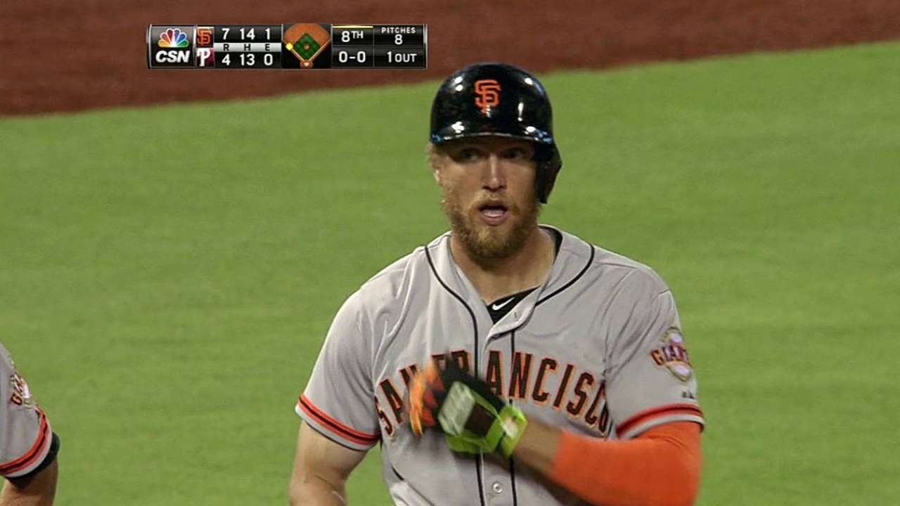 Pence a fitting winner of Heart and Hustle Award