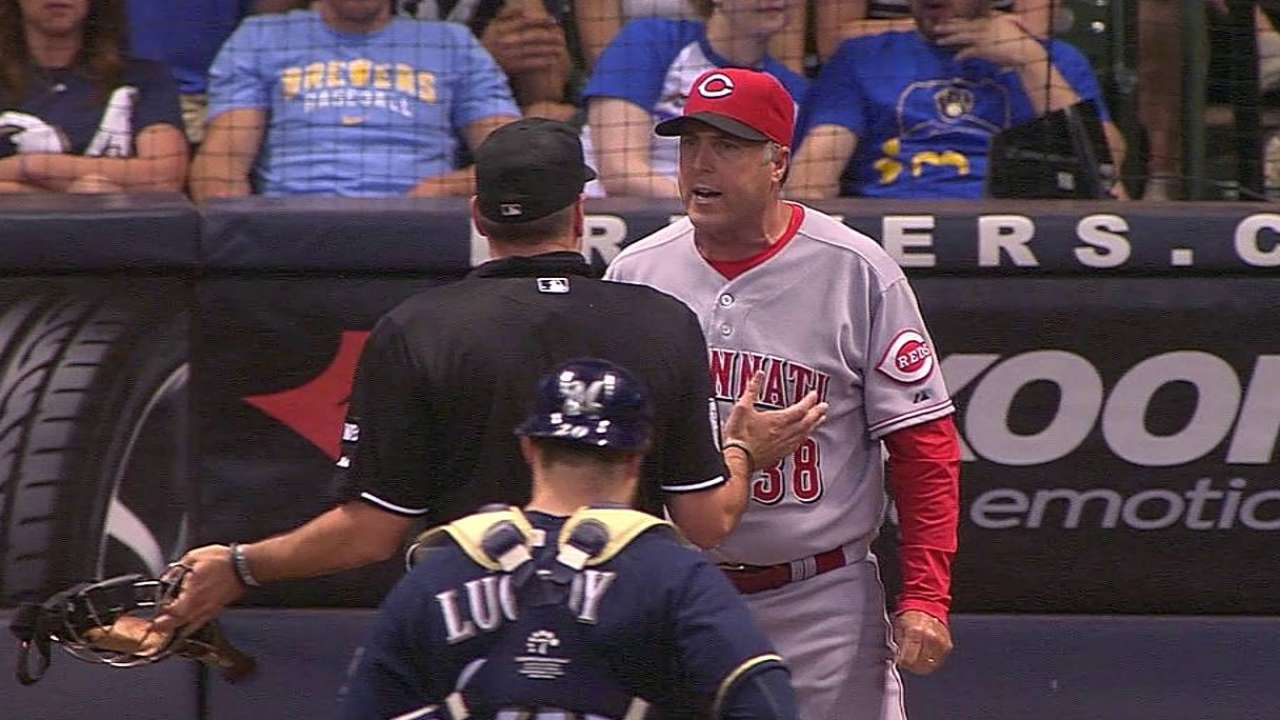 Arguing strike call nets Price an ejection