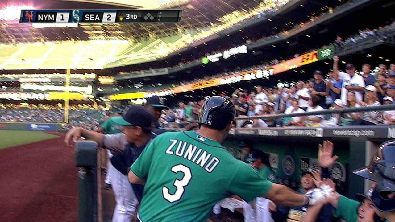 Zunino providing value with little experience