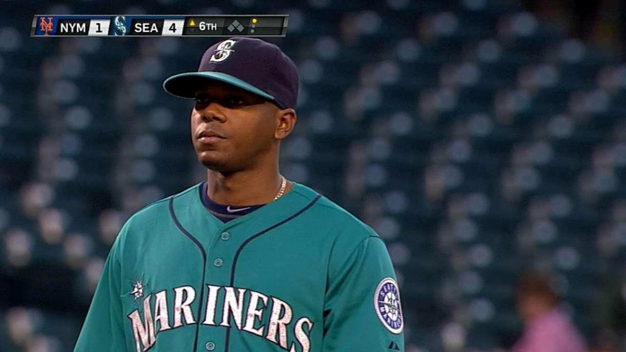 Elías y Marineros se impusieron a Mets en Seattle