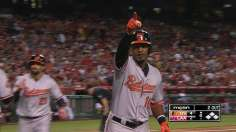 Jones' two homers propel Norris, O's at Big A