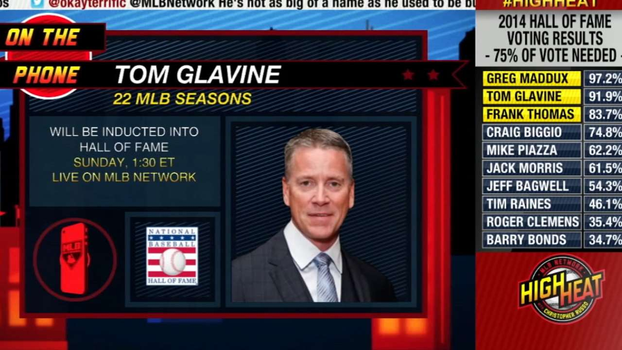 Glavine finds permanent home in Hall of Fame