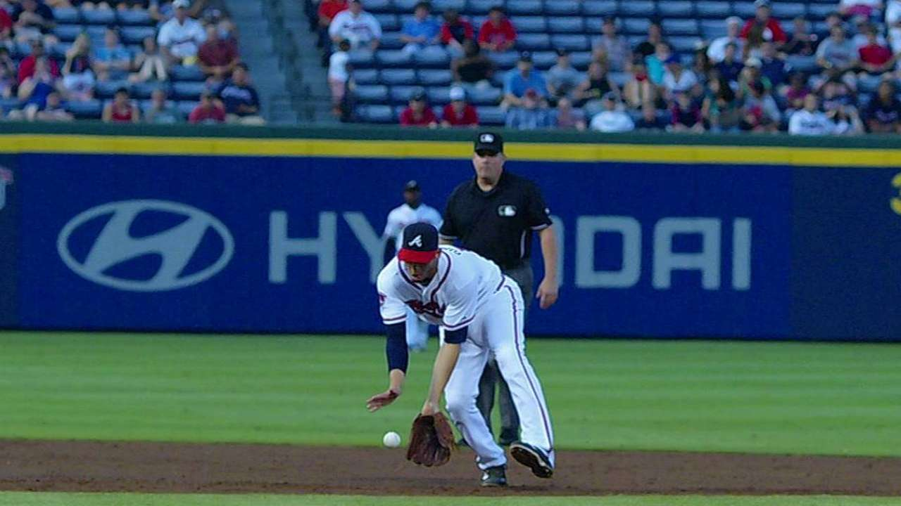 Simmons latest Braves regular to get a night off