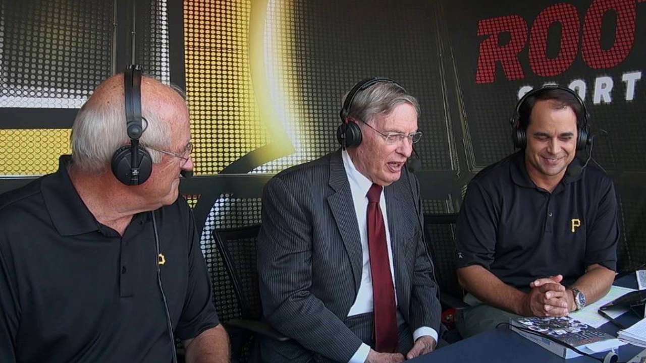Selig visits PNC, pleased with balance in MLB