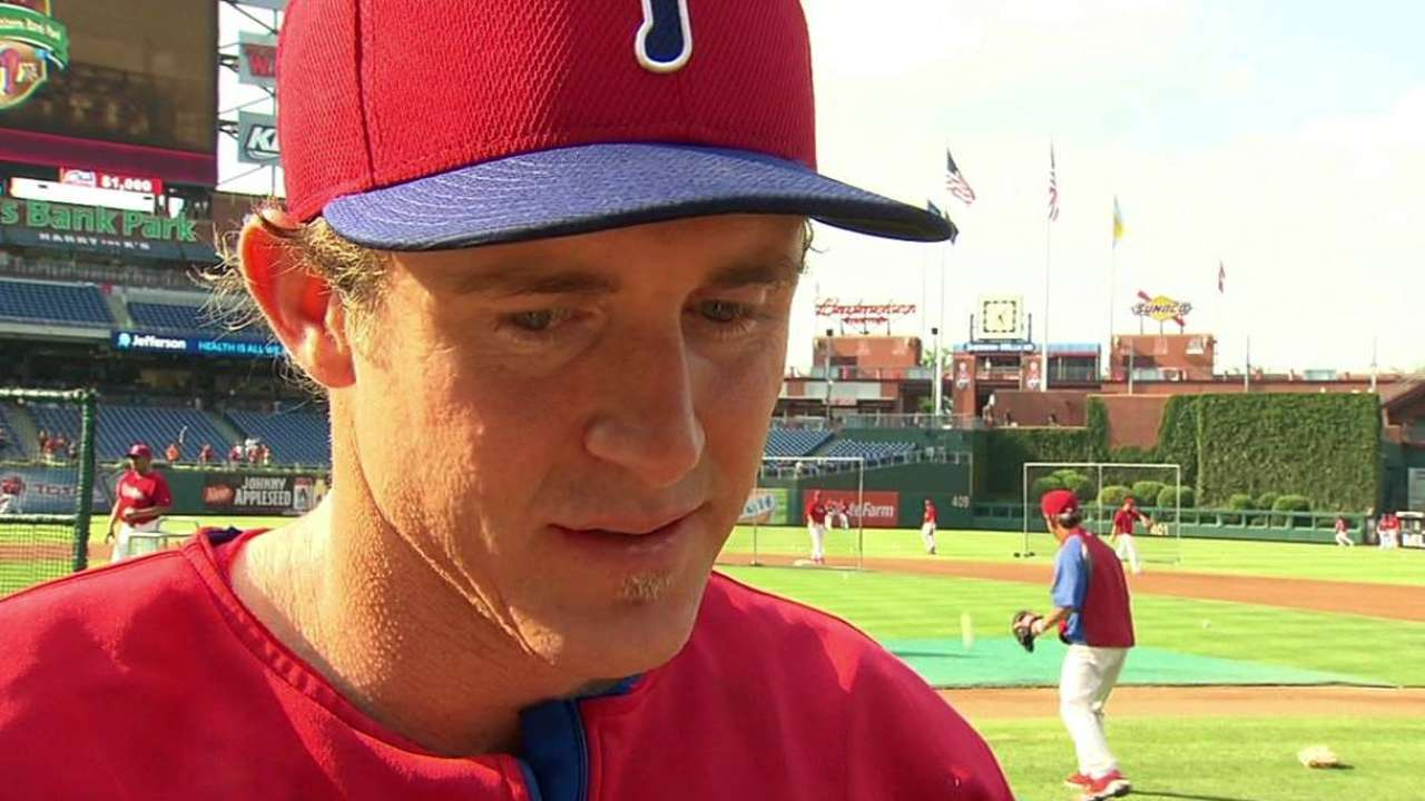 Utley wins fifth Heart and Hustle Award