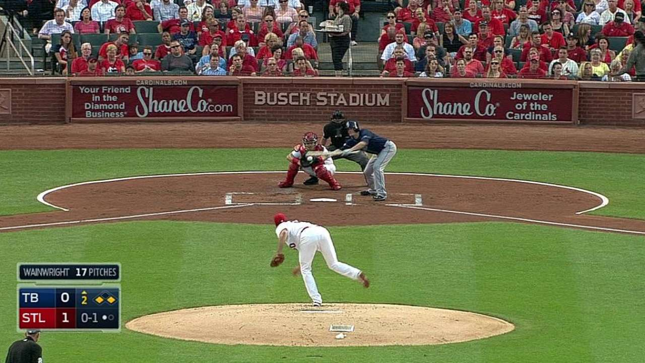 Small ball, big moment for Odorizzi in St. Louis