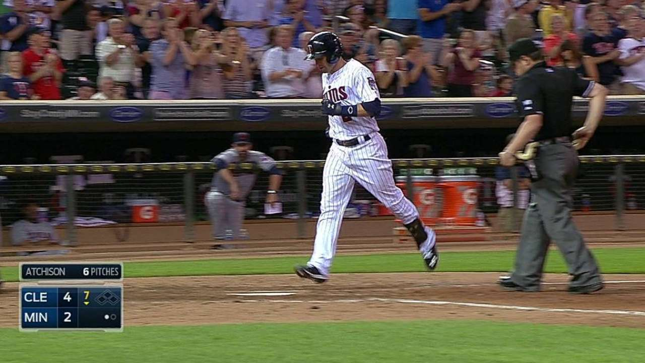 Twins fall behind early, then Tribe pulls away
