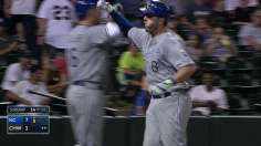 Moose fuels Royals' attack with pair of homers