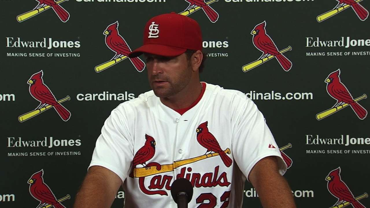 Wainwright off game, chased early in defeat
