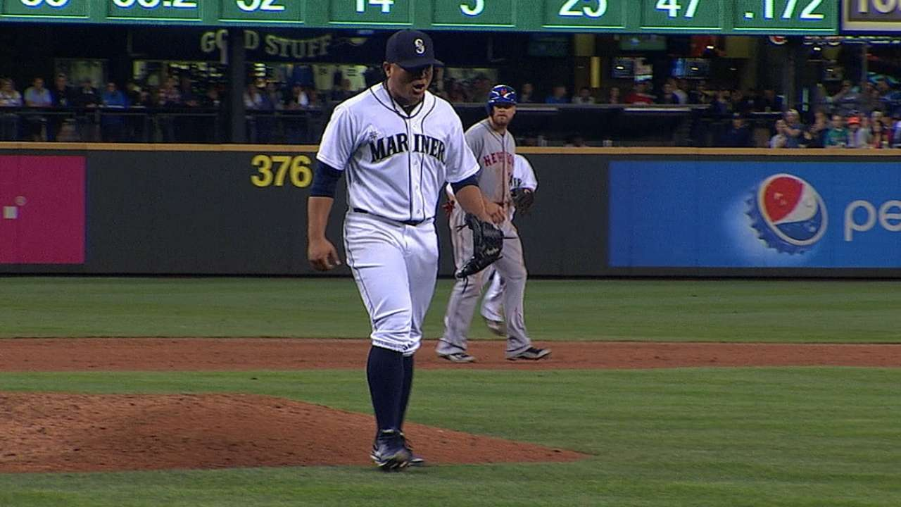 Mariners call on Ramirez for start; Luetge sent down