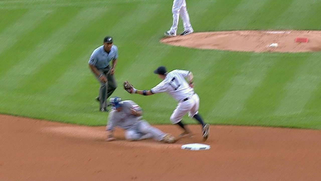 Rangers challenge caught stealing to no avail