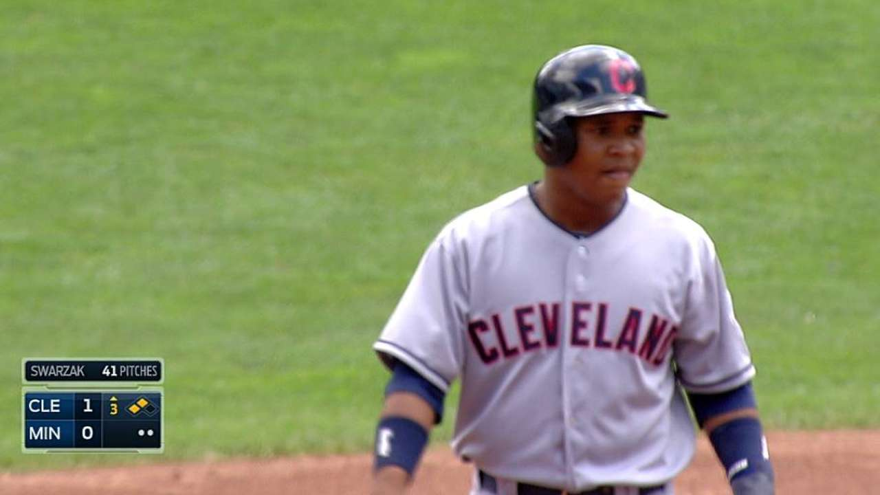 Indians recall infield prospect Ramirez, option House