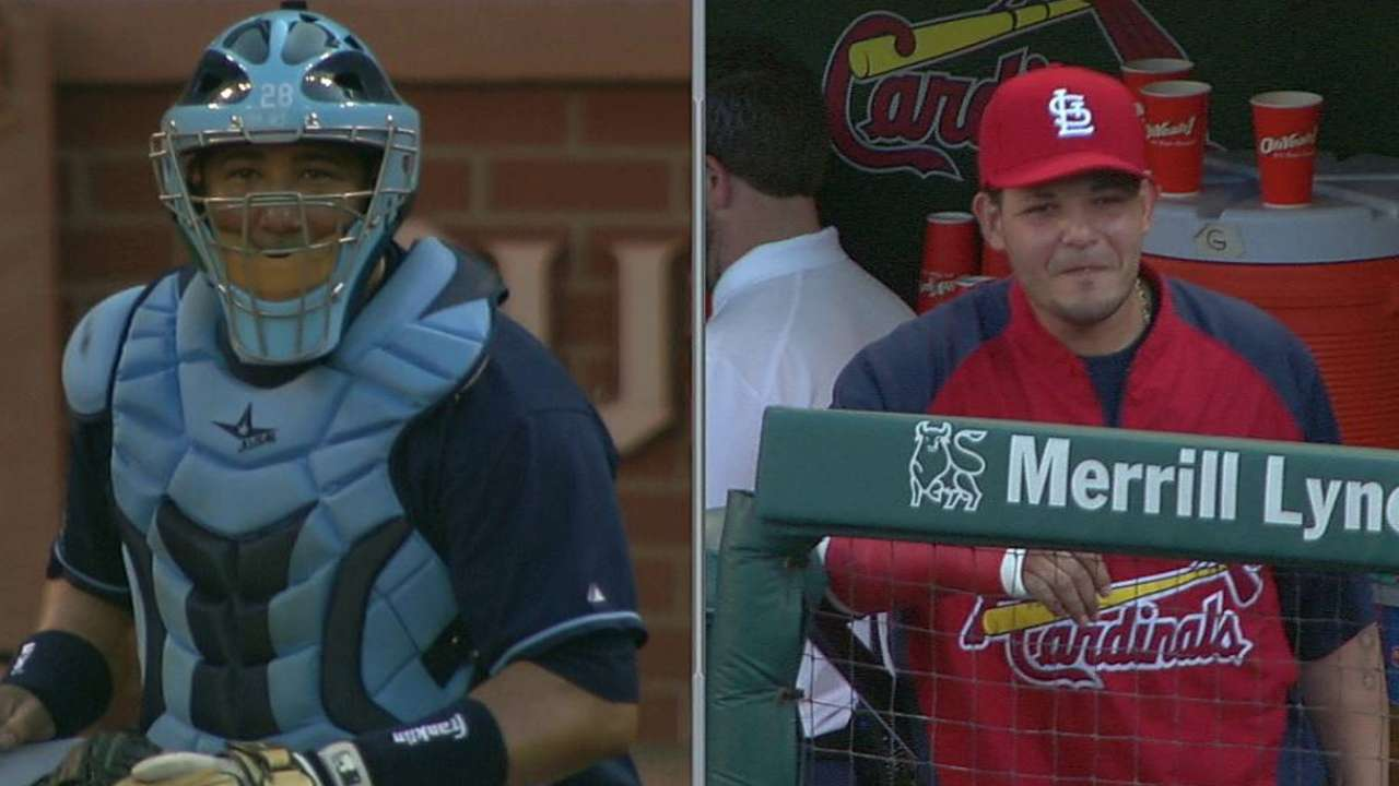 Cardinals bring in J. Molina as guest instructor