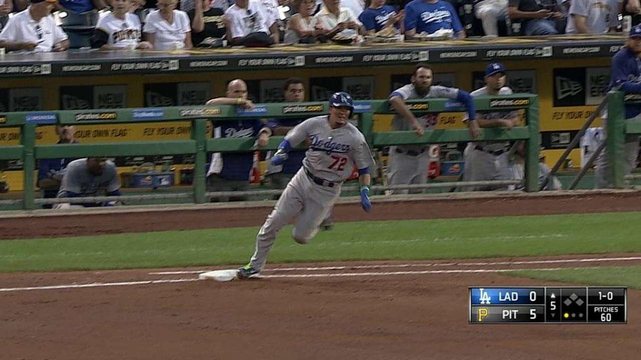Problemas de Haren hundieron a Dodgers en Pittsburgh