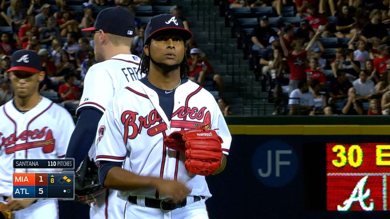 Ervin rediscovers form at right time for Braves