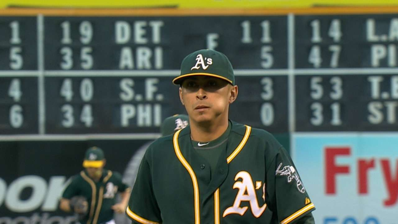 Chavez prepared to help A's in any role