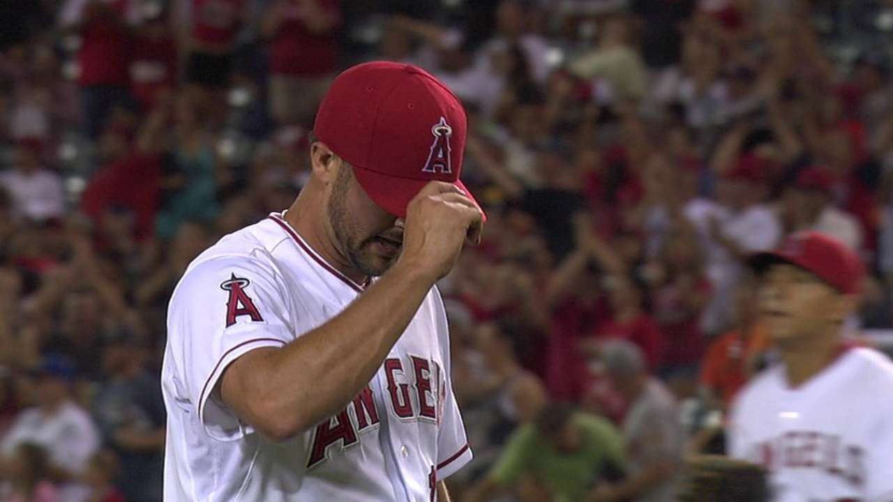 That's one: Street gets first save for Angels