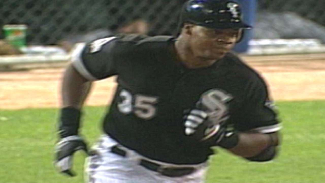 Ventura reflects on Big Hurt's place in Sox lore